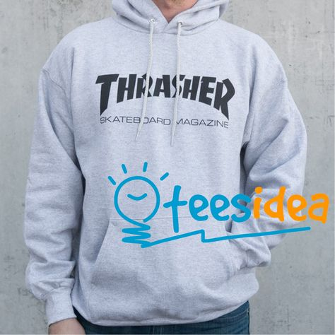 e2459fa1fc4b Thrasher Magazine logo Hoodies adult unisex for men and women in ...