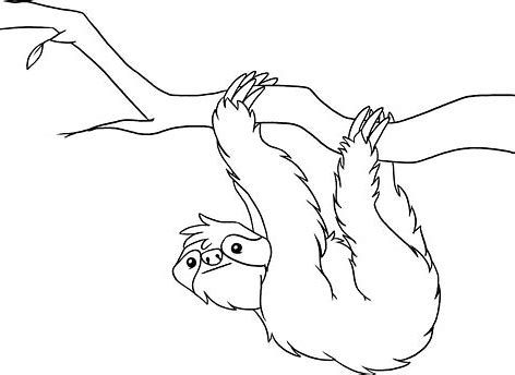 Image result for Free Printable Sloth Masks to Color | Animal ...
