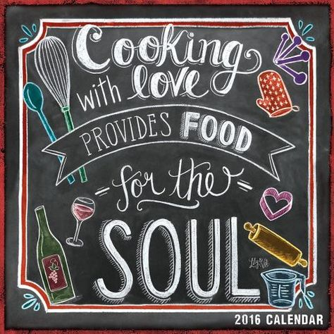 The unique, hand-drawn designs of renowned chalkboard artist Valerie McKeehan will inspire you to create your own recipe for a happy life! We've chosen the