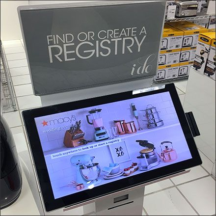 Freestanding Gift Registry Pedestal And More Fixtures Close Up Gift Registry Gifts Registry