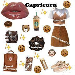 Image May Contain Text Capricorn Aesthetic Zodiac Clothes Zodiac Sign Fashion