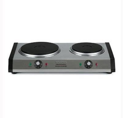 Waring Wdb600 Commercial Double Burner Hot Plate Cast Iron 120v 40072011559 Ebay Portable Stove Double Burner Single Burner