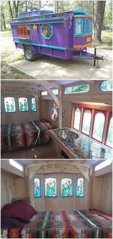 caravan decor 791226228269480737 - A gypsy caravan with a difference Source by Gypsy Decor, Boho Decor, Hollywood Regency, Glamping, Gypsy Curtains, Camper Curtains, Gypsy Trailer, Caravan Decor, Kombi Home