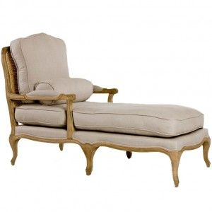 Vintage French Chaise Lounge Chaise Lounge Chair Chaise Lounge Chaise