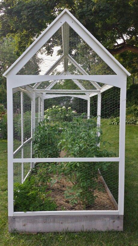 Squirrel Proof Garden Enclosure Designed By Kristine Fisher