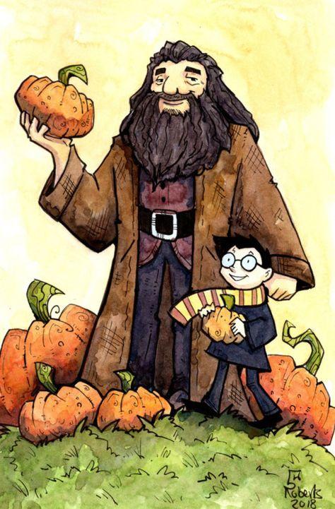 Hagrid Harry Corinne Roberts Harry Potter Harry Potter Love Harry James Potter