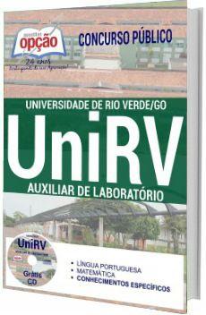 Apostila Unirv 2017 Auxiliar De Laboratorio Apostilas Para
