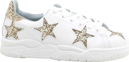 Gold Leather   Womens shoes sneakers