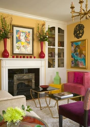 3083 best colorful interiors kolorowe wntrza images on