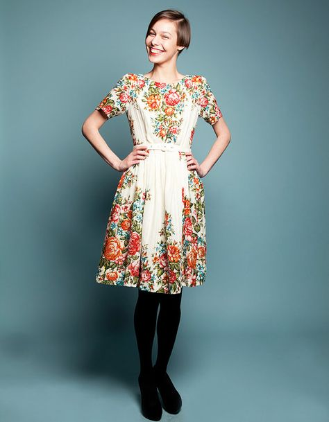 Love love LOVE this dress!!!!     ROSA dress for Jac by mrspomeranz on Etsy, £390.00
