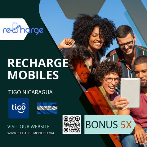 𝐓𝐢𝐠𝐨 𝐍𝐢𝐜𝐚𝐫𝐚𝐠𝐮𝐚 📲⠀ ⠀ 𝐏𝐫𝐨𝐦𝐨𝐭𝐢𝐨𝐧: Bonus 5x⠀ 𝐎𝐩𝐞𝐫𝐚𝐭𝐨𝐫: Tigo Nicaragua⠀ 𝐂𝐨𝐮𝐧𝐭𝐫𝐲: Nicaragua⠀ 𝐃𝐞𝐧𝐨𝐦𝐢𝐧𝐚𝐭𝐢𝐨𝐧𝐬: USD 10 and up⠀ ⠀ 𝐓𝐞𝐫𝐦𝐬 𝐚𝐧𝐝 𝐂𝐨𝐧𝐝𝐢𝐭𝐢𝐨𝐧𝐬: 📑⠀ ⠀ - For top ups of USD $10 or more, customers will receive 5x balance!⠀ ⠀ Recharge mobile with www.recharge-mobiles.com⠀🔝⠀ ⠀ 𝐏.𝐬: Promotion works from 18 May 2021 00:00 To 18 May 2021 23:59 (GMT-06:00)⠀ ⠀ #rechargemobiles #mobiletopup #mobilerecharge