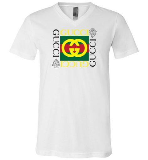 1f8c0b52 Supreme Snake Premium V-Neck T-Shirt - Gucci Collection Premium ...