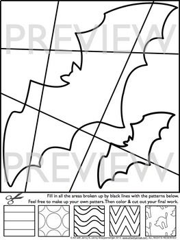 Interactive Halloween Coloring Pages Writing Prompts Fun Halloween Activity Halloween Coloring Pages Halloween Activities Fun Halloween Activity