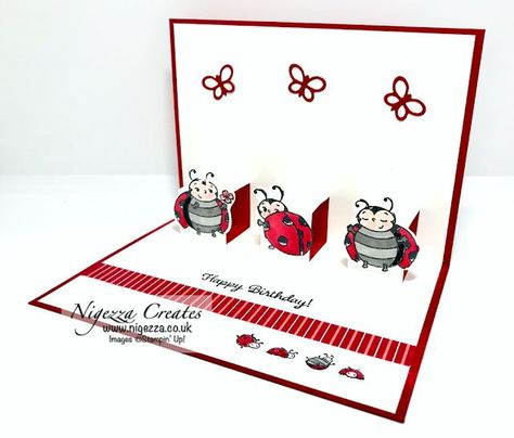 Photo of Stampin' Up! Little Ladybug Pop Up Card