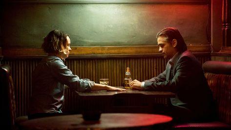 HD wallpaper: True Detective, Colin Farrell, Rachel McAdams, two people, sitting