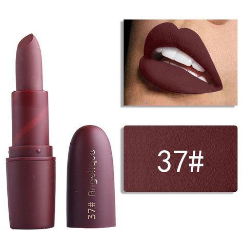 Aliexpress.com : Buy MISS ROSE 1pc Red Matte Lipstick