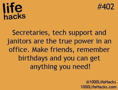 My favorite life hacks...