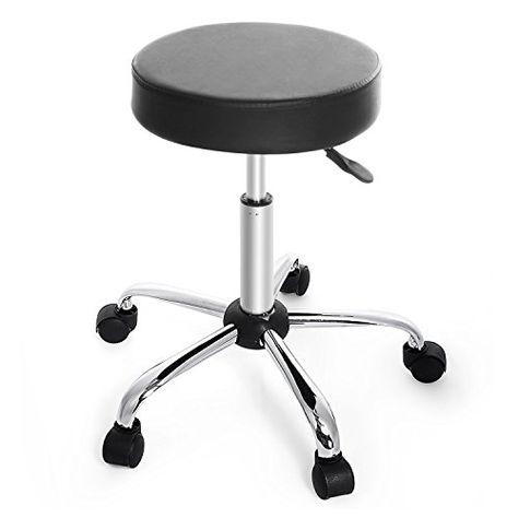 Wondrous Hindom Rolling Bar Stool Adjustable Stools With 360Degree Creativecarmelina Interior Chair Design Creativecarmelinacom