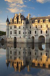 Chateau Chenonceau Art Print by Brian Jannsen