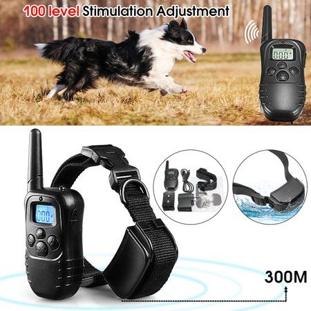 Electric Dog Training Collar Electric Shock E Collar Training