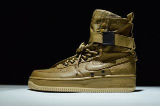 Nike Lab Special Field Air Force 1 SF AF1 Faded Olive Gum Light Brown 857872 200 Women's Men's Basketbal Shoes Sneakers 857872 200