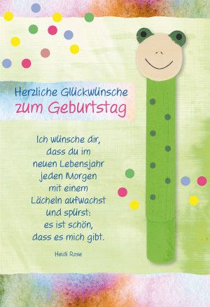 Gluckwunschkarte Zum Kindergeburtstag Herzliche Gl Herzlichen