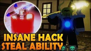 STEAL ABILITY HACK DUNGEON QUEST | LEVEL & ITEM EXPLOIT