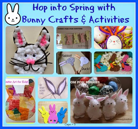 Capri + 3: Bunnies and Chicks-Crafts, Actvities and Recipes