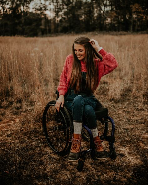 Ally Grizzard on Instagram: My favorite denim overalls that are...  #ootd #fashion #fashionblogger #liketkit #liketoknowit #wheelchairfashion #style #fall #fallfashion #fallstyle #falloutfits #adaptive #adaptiveclothing #adaptivefashion #beanboots #llbean #overalls #sweater  IG: @allygrizzard