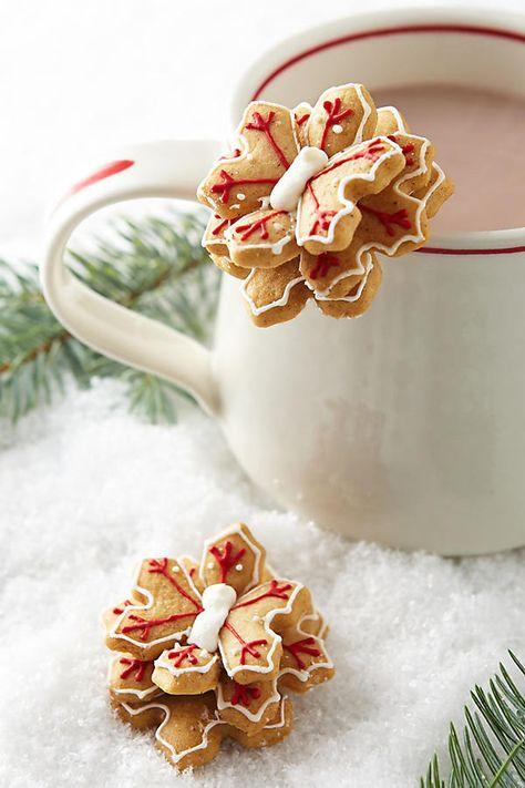 Snowflake Mug Toppers