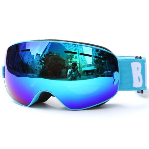9e05e469b9cc Children Ski Goggles UV400 Anti-fog Double Layers Skiing Mask Glasses  Snowboard Skating Windproof Sunglasses Skiing Goggles