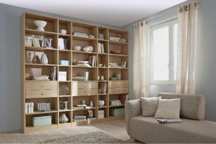 Rangement De Printemps Bibliotheque Sur Mesure Decoration Maison Mobilier De Salon