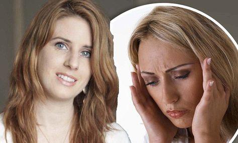 Toria Law, 29, was suffering from migraine-associated vertigo. This is a migraine that doesn't cause a headache, but vertigo.