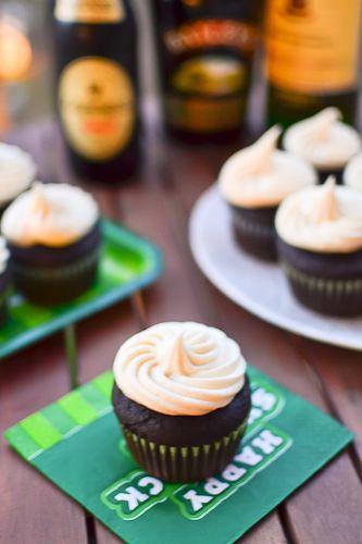 Irish Car Bomb Cupcakes - greatest St. Patty Day dessert!!!