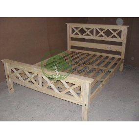 Resultado De Imagen De Cama De Pino De 2 Plazas En Cruz Sin Pintar Decor Storage Bench Home Decor