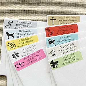 Create Your Own Return Address Labels