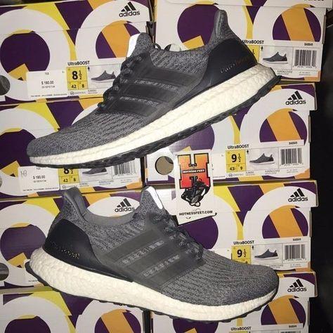 f8842647c9d Adidas Ultraboost 3.0 Mystery Dark Heather Grey Ultra Boost Ba8849 Size 8-13
