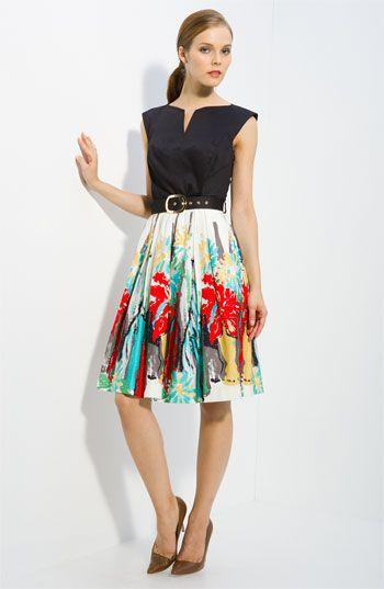 Charming day dress.
