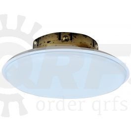 Viking 135f 57c White Large Diameter Cover Plate For Mirage Large Diameter Fire Sprinklers 13642ma W Sprinkler Fire Sprinkler System Fire Sprinkler