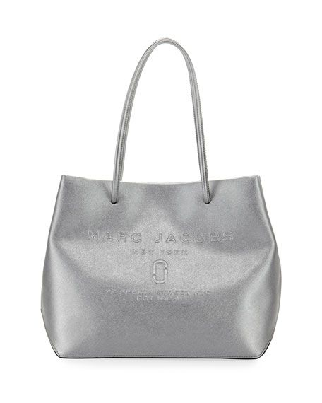 ca8da96e33c67 Marc Jacobs Metallic Logo Shopper Tote Bag   Bags   Bags, Shopper ...
