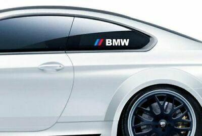 Pair Bmw M3 M5 M6 E34 E36 E39 E46 E60 E70 E90 Z4 Window Decal Sticker Logo Bmw Logo Sticker Bmw M3