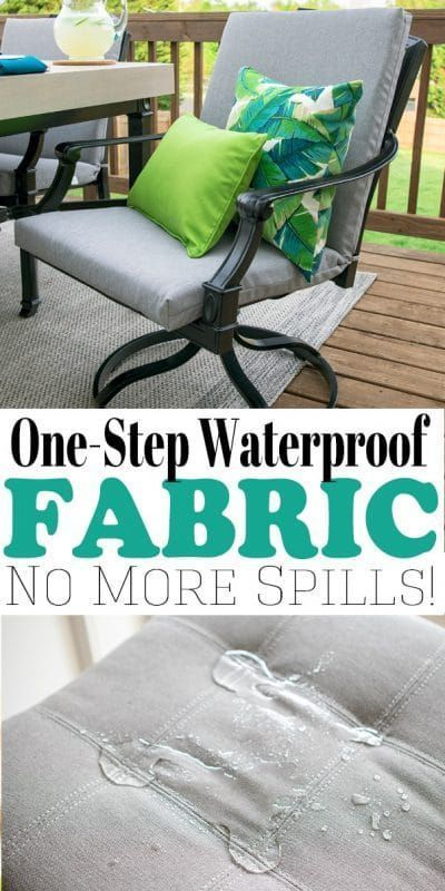 How To Waterproof Fabric Waterproof Fabric Waterproof Furniture Waterproof Outdoor Cushions