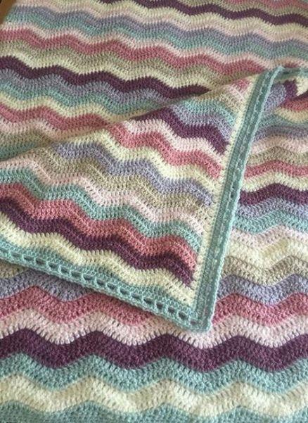 32 Trendy Crochet Edging For Afghans Color Combos Crochet Crochet Edging Crochet Border Patterns Crochet Blanket Border