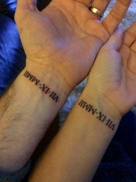 2020 Roman Numerals Tattoo : roman, numerals, tattoo, Roman, Numerals, Tattoo, Sentimental, Numeral, Wrist, Tattoo,, Tattoos,, Tattoos