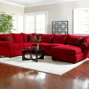 Red Sectional Sofas With Chaise Met