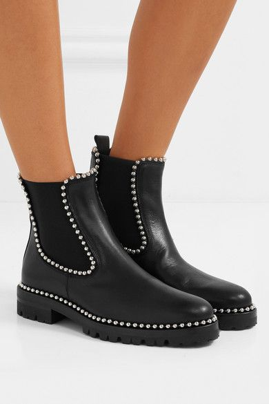 7403fd80467 ALEXANDER WANG cool Spencer studded leather Chelsea boots in 2019 ...