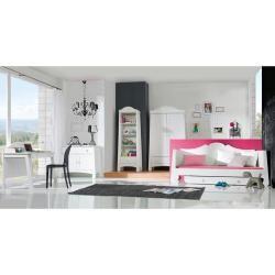 Pinio Kommode Parole Weiß mit 1 Schublade und 2 Türen PinioPinio