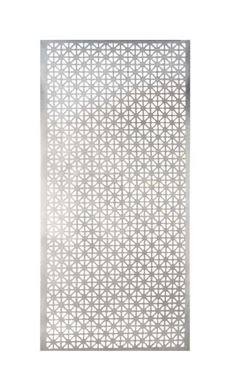 M D Building Products 1 Ft X 2 Ft Satin Nick Elliptical Aluminum Sheet 57010 The Home Depot