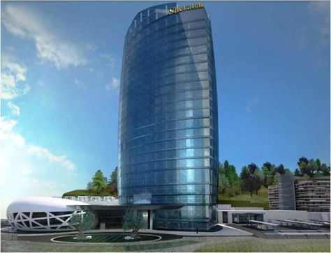 Annaba Sheraton Hotel Tower 20 Fl Under Construction Page