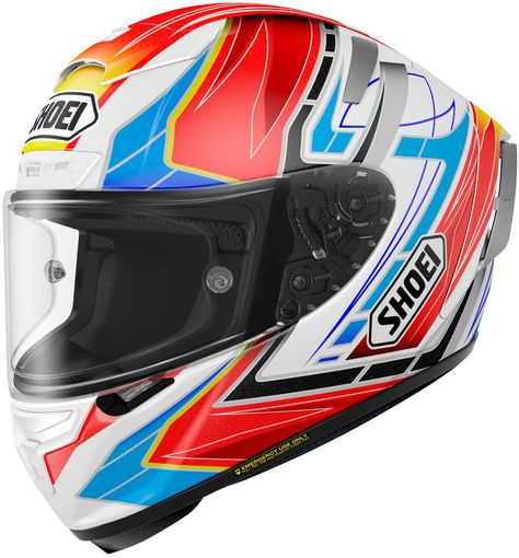 Shoei X Spirit Iii Assail Full Face Race Helmet With Images Full Face Helmets Motorcycle Helmets Mens Motorcycle Helmets
